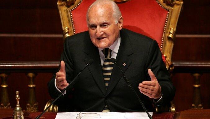 Берзиньш выразил соболезнования в связи со смертью бывшего президента Италии Оскара Луиджи Скальфаро