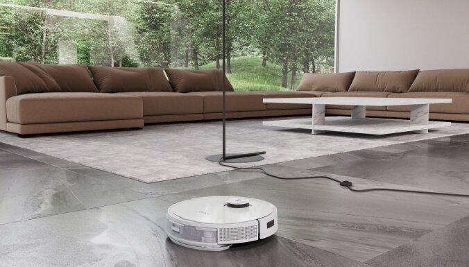 Smaržo pēc tīrības: pirmais putekļu sūcējs robots, kas izplata patīkamu aromātu