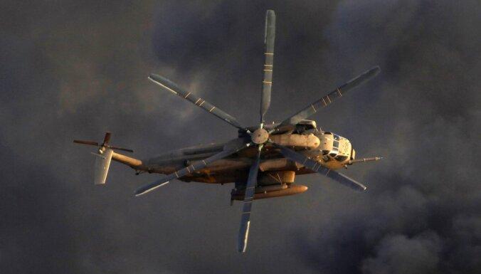 Havaju salās saskrienas ASV armijas helikopteri; varētu būt mirušie