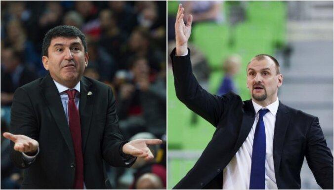 Latvijas basketbola izlases trenera amatam izskata ambiciozus ārzemniekus