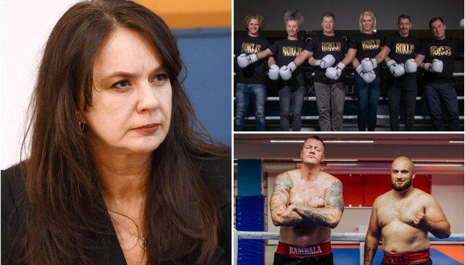 Žaklīna Cinovska vaino Kristapu Zuti boksa šova idejas zādzībā