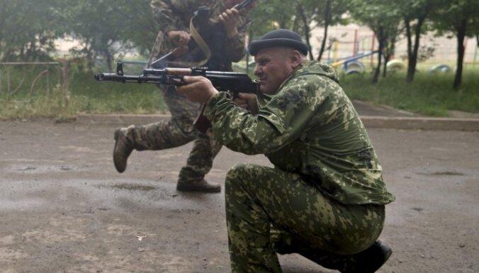 Luhanskā apšaudes nav rimušās