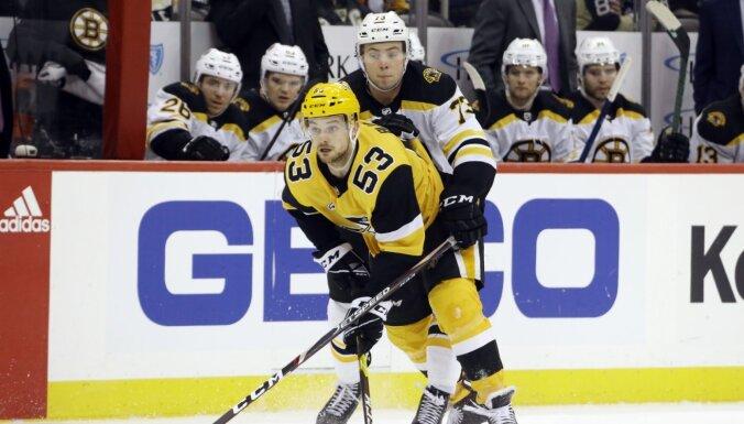 Bļugeru slavē NHL zvaigzne Sidnijs Krosbijs