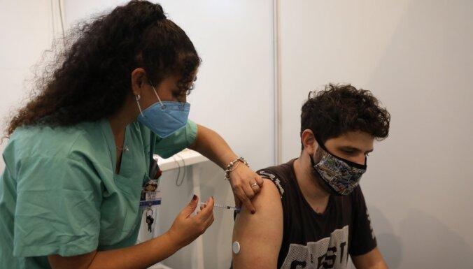 Covid-19: Izraēlā vakcīnas pirmo devu saņēmuši jau miljons cilvēku