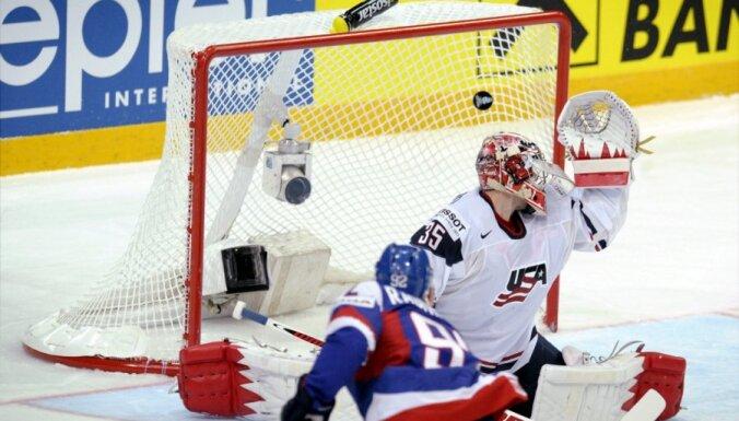 ASV hokeja izlase paziņo PČ sākotnējo sastāvu