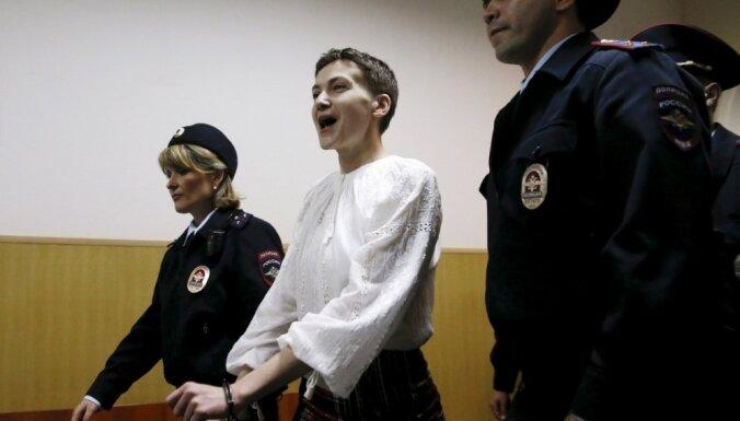 Украинская летчица Савченко составила завещание перед новой голодовкой