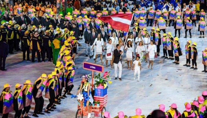 ФОТО. Спецкор DELFI в Рио: элегантные латвийские девушки внесли разнообразие
