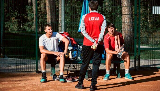 Latvijas tenisa izlase martā Deivisa kausa dueli pret Ēģipti aizvadīs savās mājās
