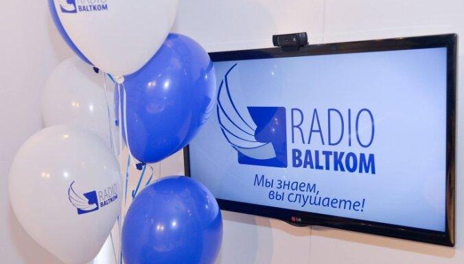 NEPLP оштрафовал радио Baltkom за скрытую предвыборную агитацию