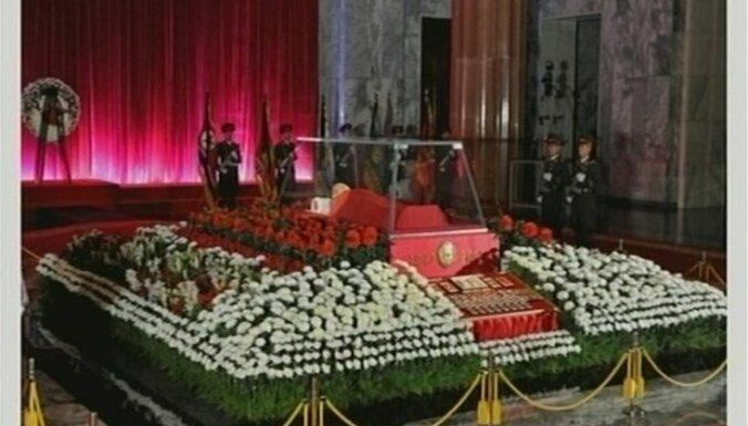Ziemeļkoreja par vadoņa nāvi sēros 11 dienas