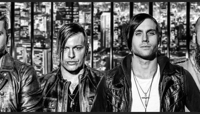 Rīgā uzstāsies grupa 'Three Days Grace'
