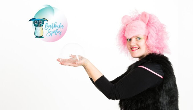 """""""Пузыри — это волшебная сила!"""" Как Алисе создала страну чудес Burbuļu spēles"""