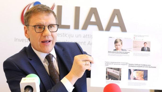 Nemiro neatsauks izteikumus par LIAA darbinieku iesaisti lietā par ES fondu izkrāpšanu