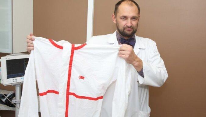 """ФОТО: что произойдет, если больной Эболой попадет в """"Гайльезерс""""?"""