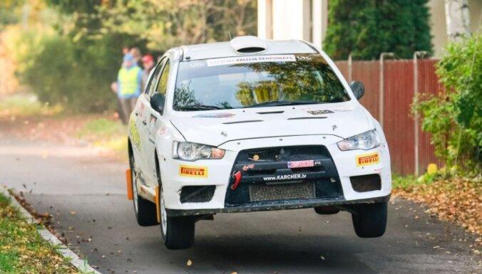 Vorobjovs triumfē rallijā 'Latvija'