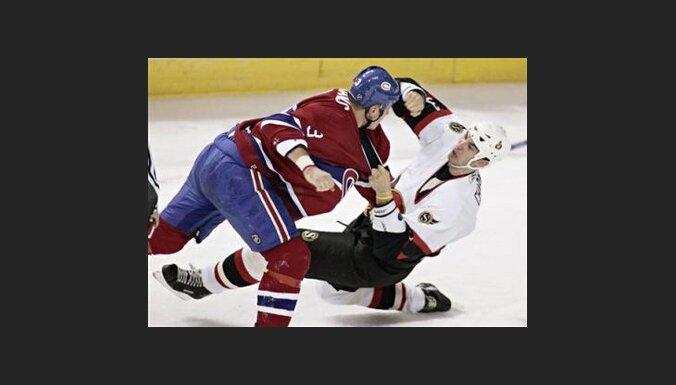 Канадцы за драки в НХЛ