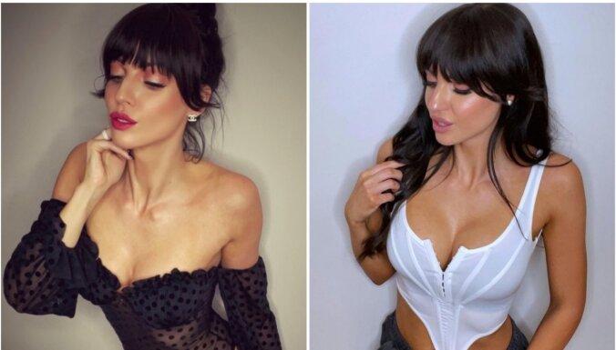 Influencere Sana Timma: 'Arī es ar savu izskatu varu nopelnīt'