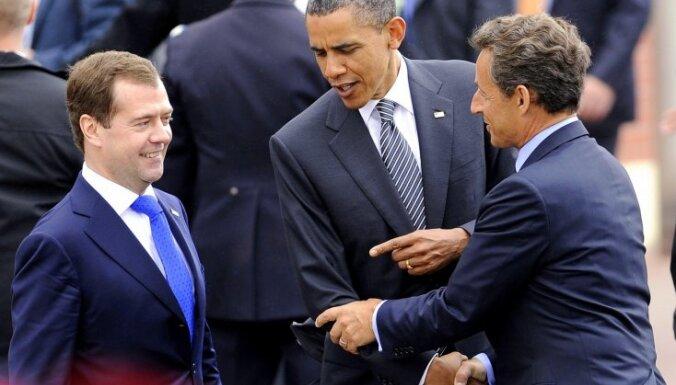Krievijas vieta G8 samitā ir apdraudēta, norāda ASV