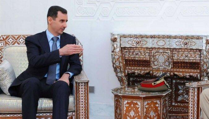 Bašars al Asads apstiprināts Sīrijas prezidenta amatā