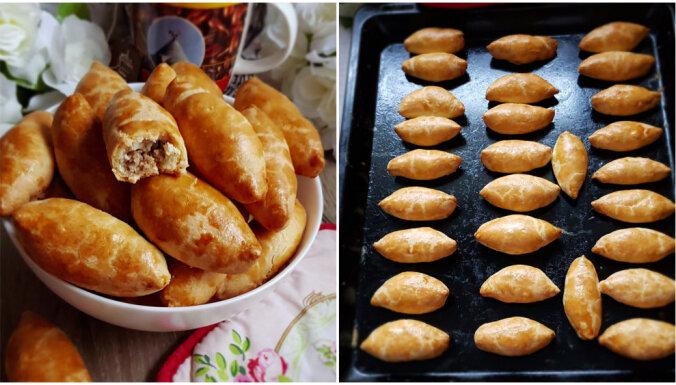 Ātrie sviesta mīklas pīrādziņi bez raudzēšanas