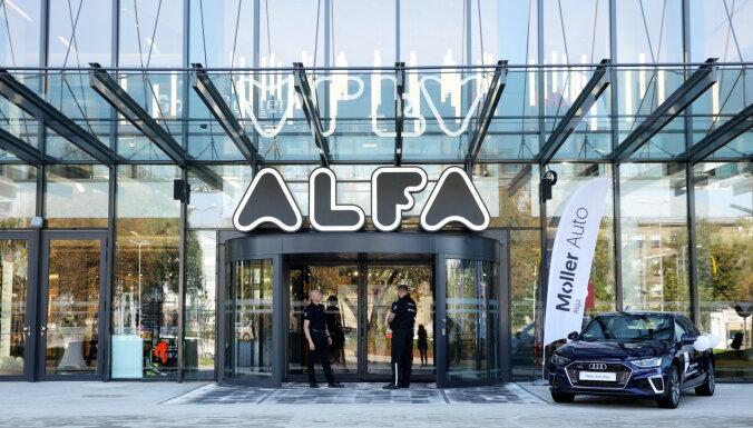 ВИДЕО: В новом корпусе торгового центра Alfa открываются почти 40 магазинов