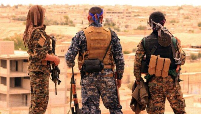 Kurdu spēki pavirzījušies uz priekšu uzbrukumā 'Daesh' pēdējam kontrolētajam ciematam Sīrijas austrumos