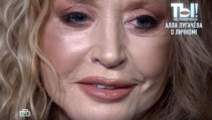 Alla Pugačova beidzot komentē, ko darījusi ar savu gludo seju