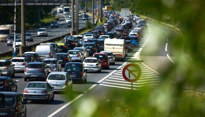 Самая загруженная дорога в Латвии — Бауское шоссе