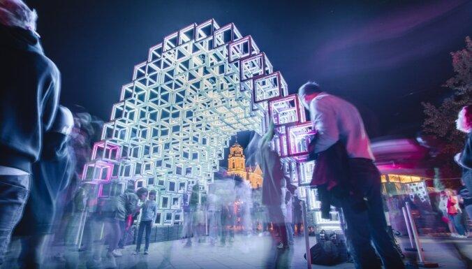 Foto: Viļņā aizvadīts ikgadējais Gaismu festivāls