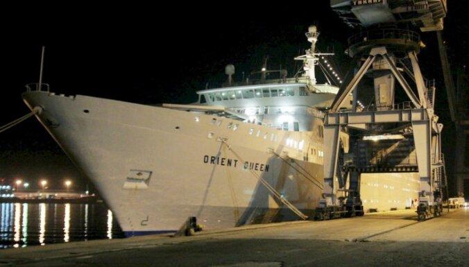 Beirūtas ostā nogrimis kruīza kuģis 'Orient Queen'