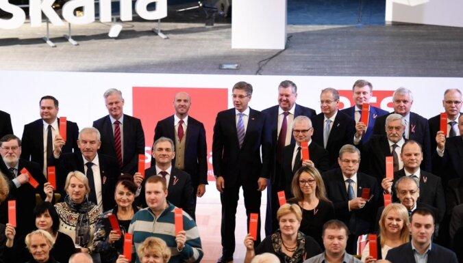 Biedru skaita ziņā līdere Latvijā ir 'Saskaņa'