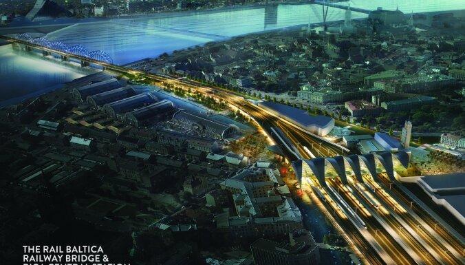 'Rail Baltica' pusmiljarda eiro pasūtījumu saņems 'RERE būve' un Beļģijas uzņēmums