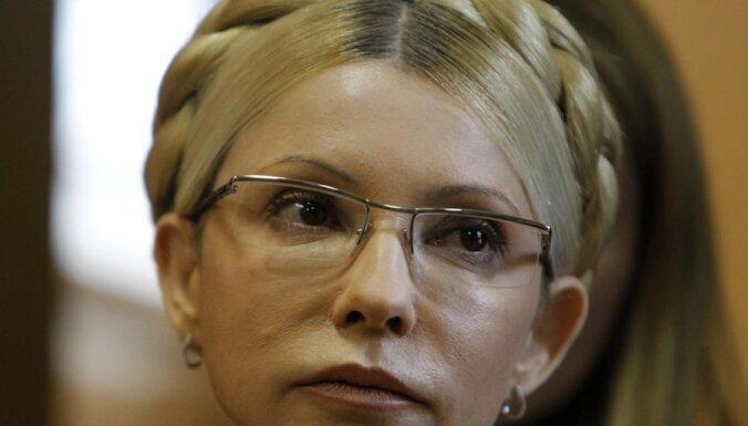 Timošenko nosaka liecinieces statusu bijušā Ukrainas parlamenta deputāta Ščerbana slepkavības lietā