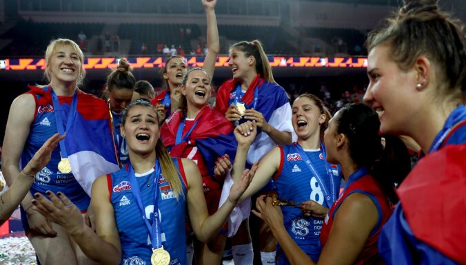 Сербки выиграли чемпионат Европы по волейболу, сборная России — вновь без медалей