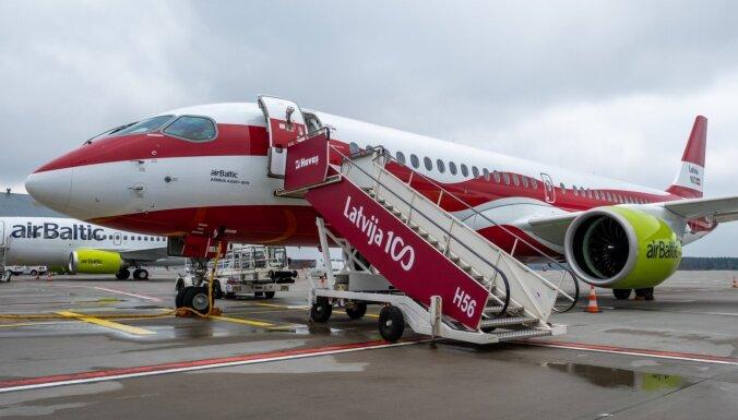 'airBaltic' lidmašīna tehnisku problēmu dēļ apturējusi izlidošanu no Šeremetjevas uz Rīgu