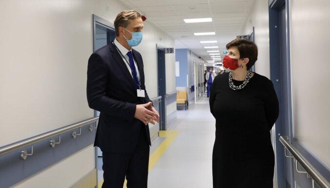 'Gaiļezera' pirmā korpusa atjaunošana veicinās pacientu aprūpes pilnveidošanos, uzskata Paeglītis