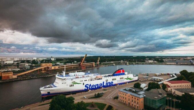 'Stena Line' vētras dēļ izmaina ceturtdienas prāmju grafiku
