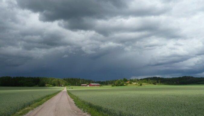 В понедельник ожидается пасмурная погода и кратковременные дожди