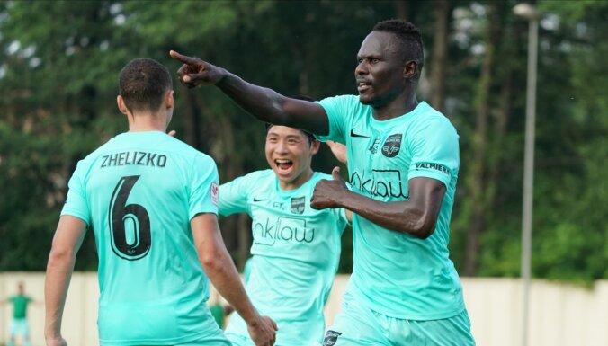 'Valmiera' FC pārspēj 'Spartaku' un kļūst par virslīgas līderi