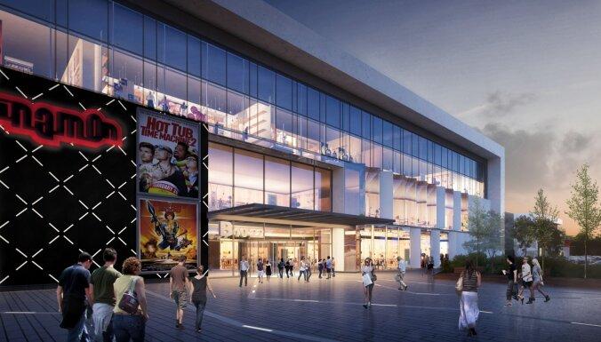 В четверг для посетителей откроются новые здания торгового центра Alfa