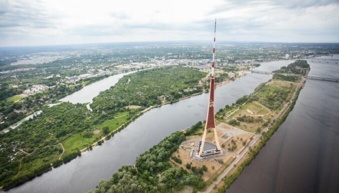 Foto: Vasarīgā Rīga no putna lidojuma