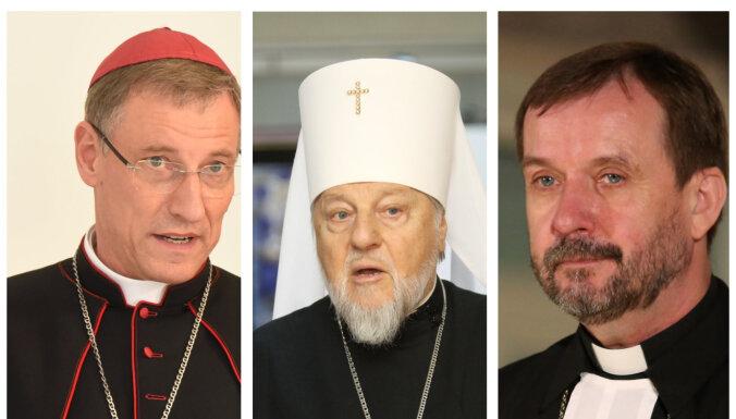 Lielāko kristīgo konfesiju vadītāji Lieldienās vēl nebaidīties no Covid-19 pandēmijas