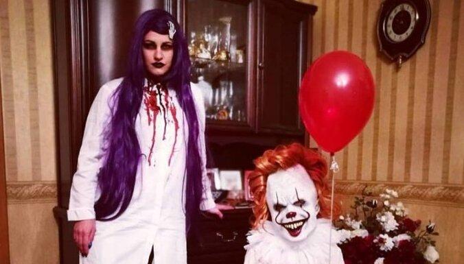 От вампира до ведьмы. Как Хеллоуин стал любимым праздником рижанки Натальи Сорокиной
