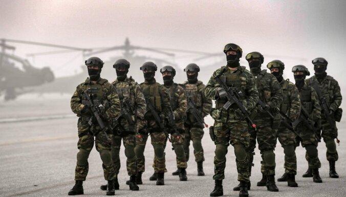 ASV plānojot jaunu spēku dislokāciju Grieķijā
