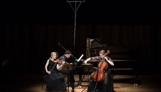 Koncertzālei 'Cēsis' būs savs rezidences ansamblis – 'Trio Palladio'