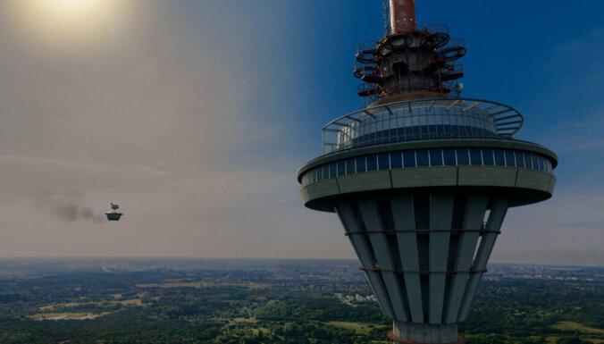 Невероятный аттракцион: начиная со вторника на Таллиннской телебашне можно будет полетать!