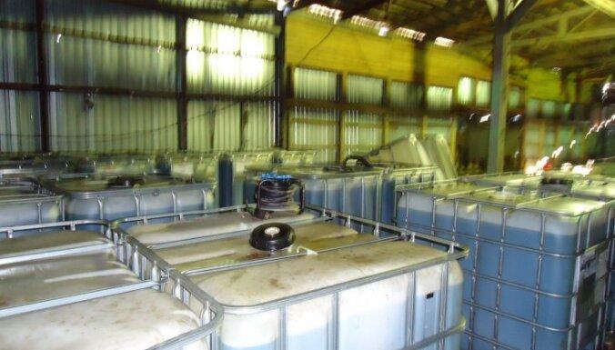 В Стопиньском крае нашли 30 тонн нелегального горючего