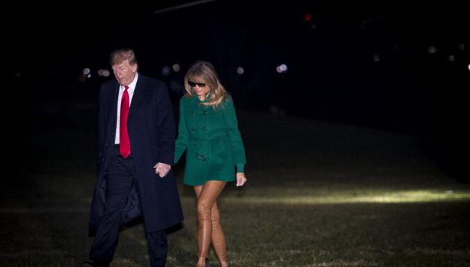 Оптический эффект озадачил юзеров: Мелания Трамп забыла надеть брюки?