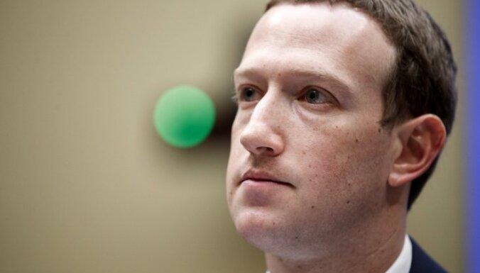 'Facebook' spēs novērst iejaukšanos ASV vēlēšanās, pārliecināts Zakerbergs
