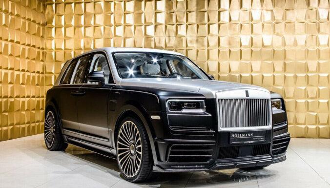 'Rolls-Royce' apvidnieka tūninga versija 'Billionaire' par 785 tūkstošiem eiro